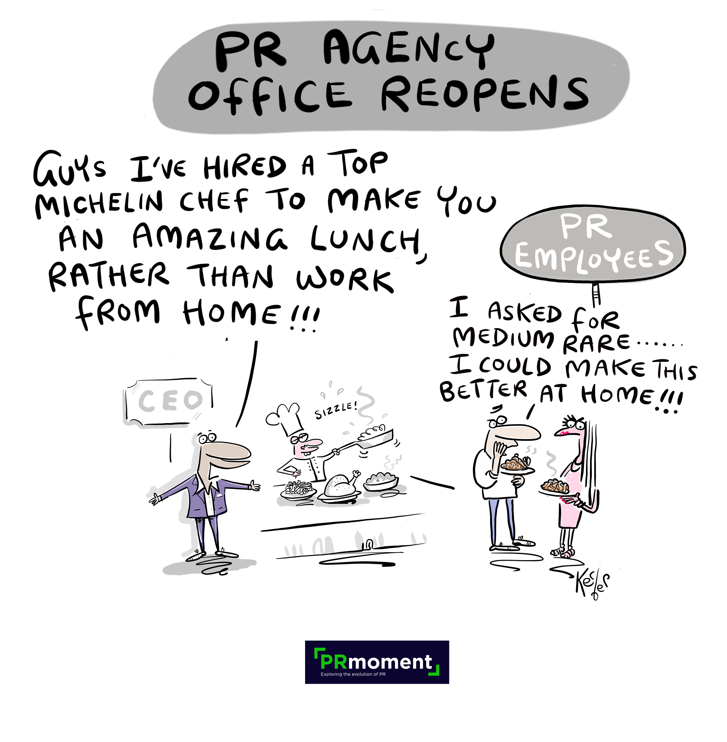 PR AGENCY OFFICE REOPENS