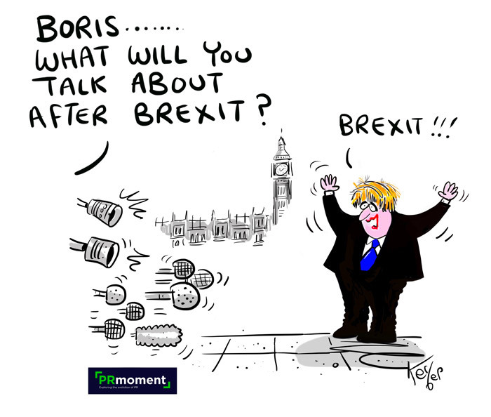 Boris... What will you talk about after Brexit?