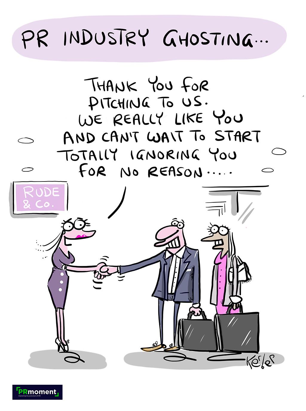 PR Industry Ghosting...